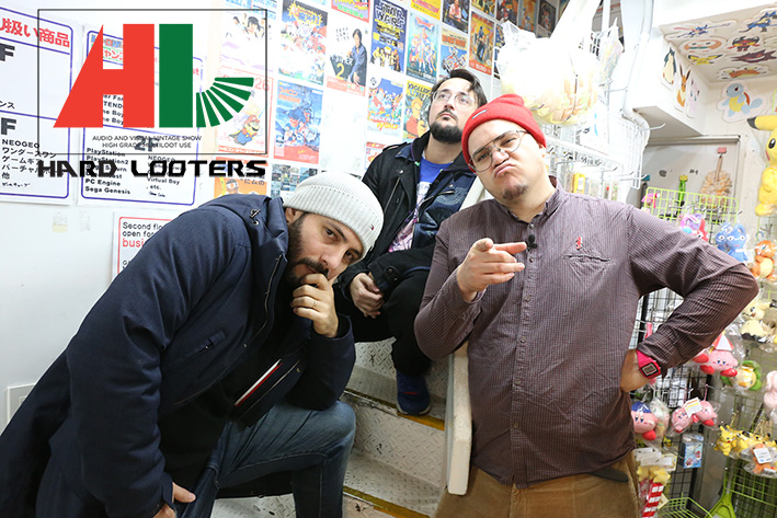 La team des HARD LOOTERS