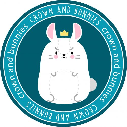 Crown and bunnies